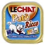Monge Lechat Монж консервы для кошек тунец/океаническая рыба/рис 100 г (Доставка из вет. клиники)