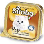 Monge Simba Cat Монж консервы для кошек паштет курица 100 г