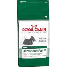 Royal Kanin Mini Dermacomfort / Мини Дермакомфорт Роял Канин Корм для собак мелких размеров (вес взрослой собаки до 10 кг) старше 10 месяцев с раздраженной и зудящей кожей (0,8 кг; 2 кг; 4 кг)