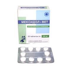 Мексидол-Вет таблетки, 1 уп, 20 табл