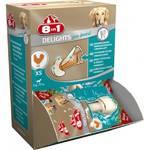 8in1 DENTAL DELIGHTS XS косточки с куриным мясом для мелких собак с минералами (коробка)