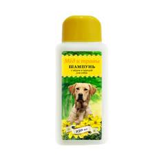 Шампунь гигиенический для собак с мёдом и чередой (Пчелодар), 250 мл