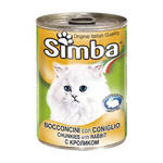 Monge Simba Cat Монж консервы для кошек паштет кролик 400 г (Доставка из вет. клиники)