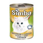 Monge Simba Cat Монж консервы для кошек паштет кролик 400 г