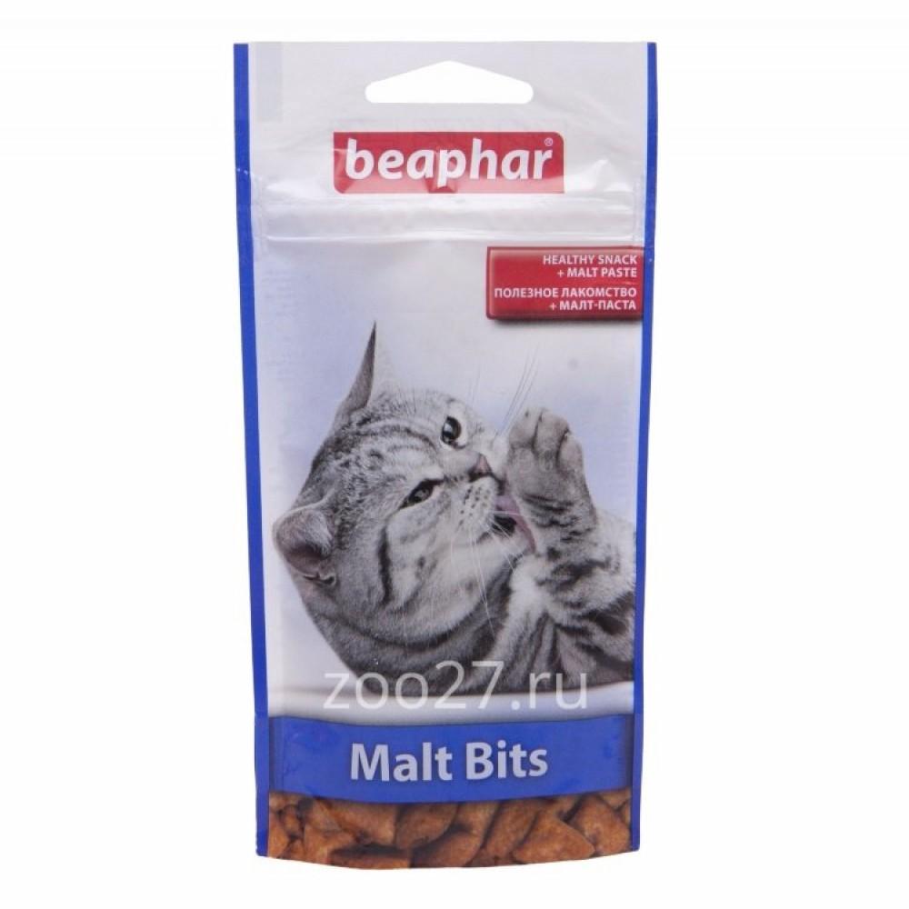 """Beaphar """"Malt-Bits"""" Беафар - Подушечки для кошек с мальт-пастой"""