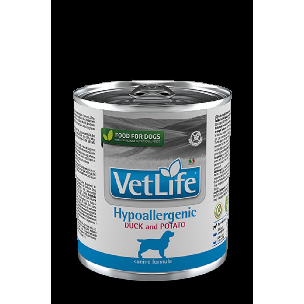 Farmina Vet Life Dog HYPOALLERGENIC DUCK AND POTATO Фармина Вет Лайф Дог паштет для собак гипоаллергенный утка с картофелем 300 гр