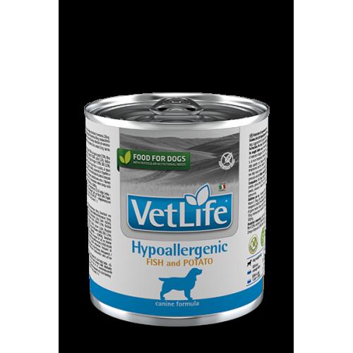 Farmina Vet Life Dog HYPOALLERGENIC FISH AND POTATO Фармина Вет Лайф Дог паштет для собак гипоаллергенный рыба с картофелем 300 гр