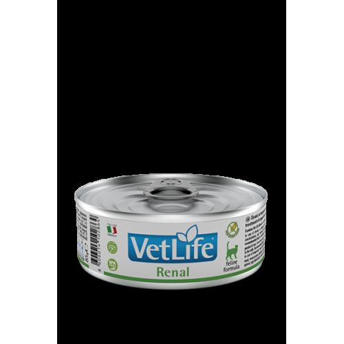 Farmina Vet Life Cat Renal Фармина Вет Лайф Кэт Ренал паштет при заболеваниях мочевыводящих путей 85 гр
