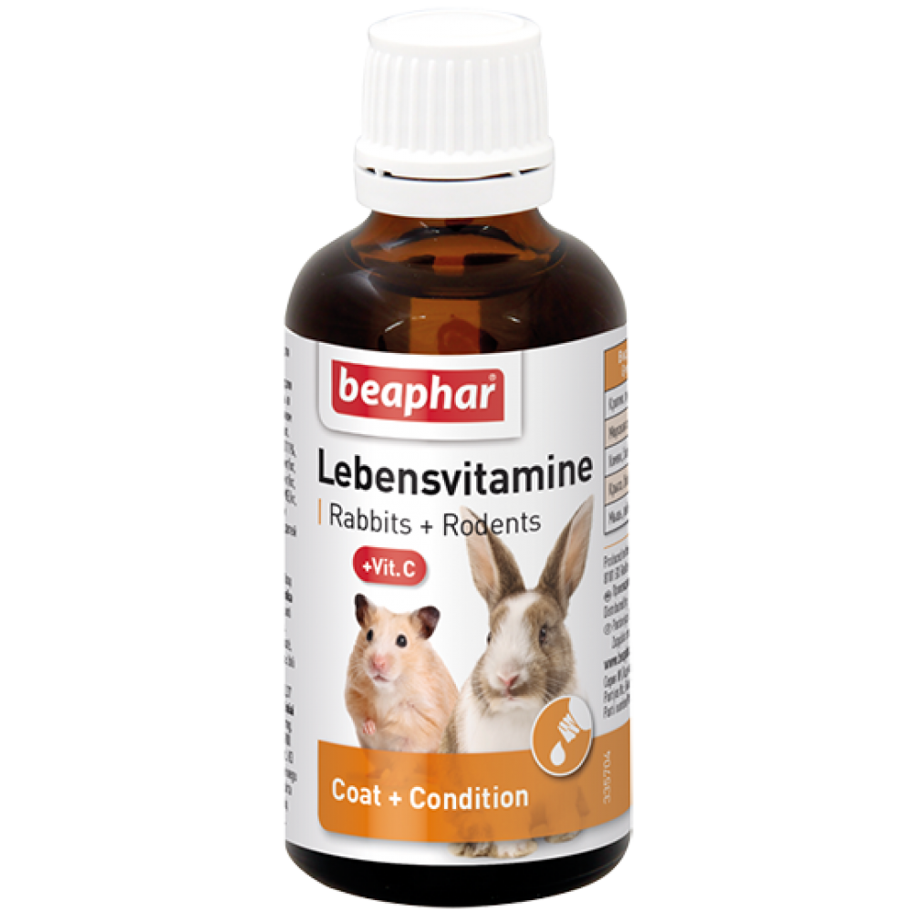 "Beaphar ""Lebensvitamine"" Беафар - Витамины для грызунов"