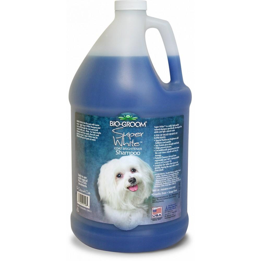 Bio-Groom Super White Shampoo - Шампунь для собак белого и светлых окрасов