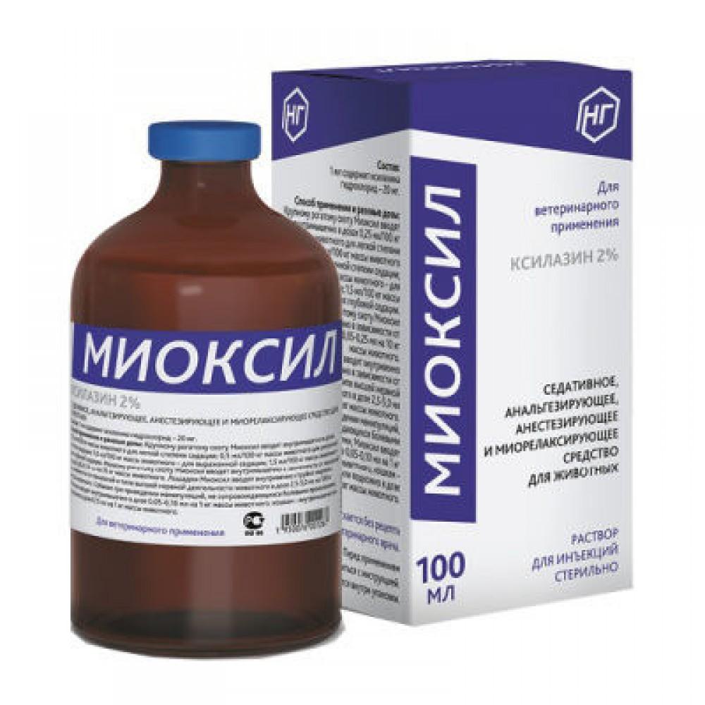 Миоксил, седативное ср-во, 1 фл