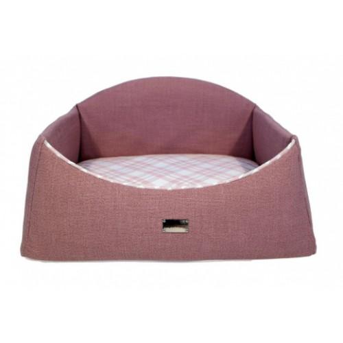 """Лежак для домашних животных """"Bergamo"""", розовый"""