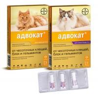 Advocate Адвокат, капли для кошек 1 пипетка