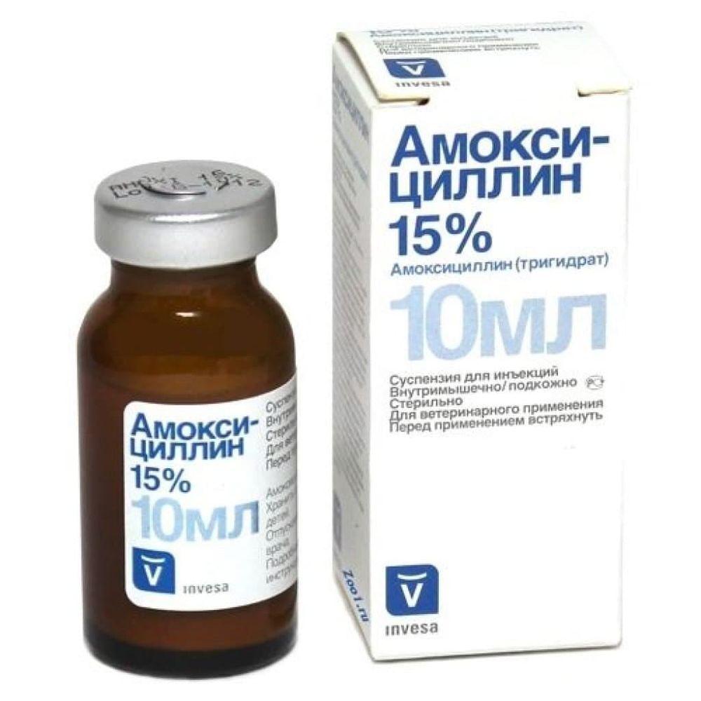 Livisto Амоксициллин 15%, 10 мл, 100 мл