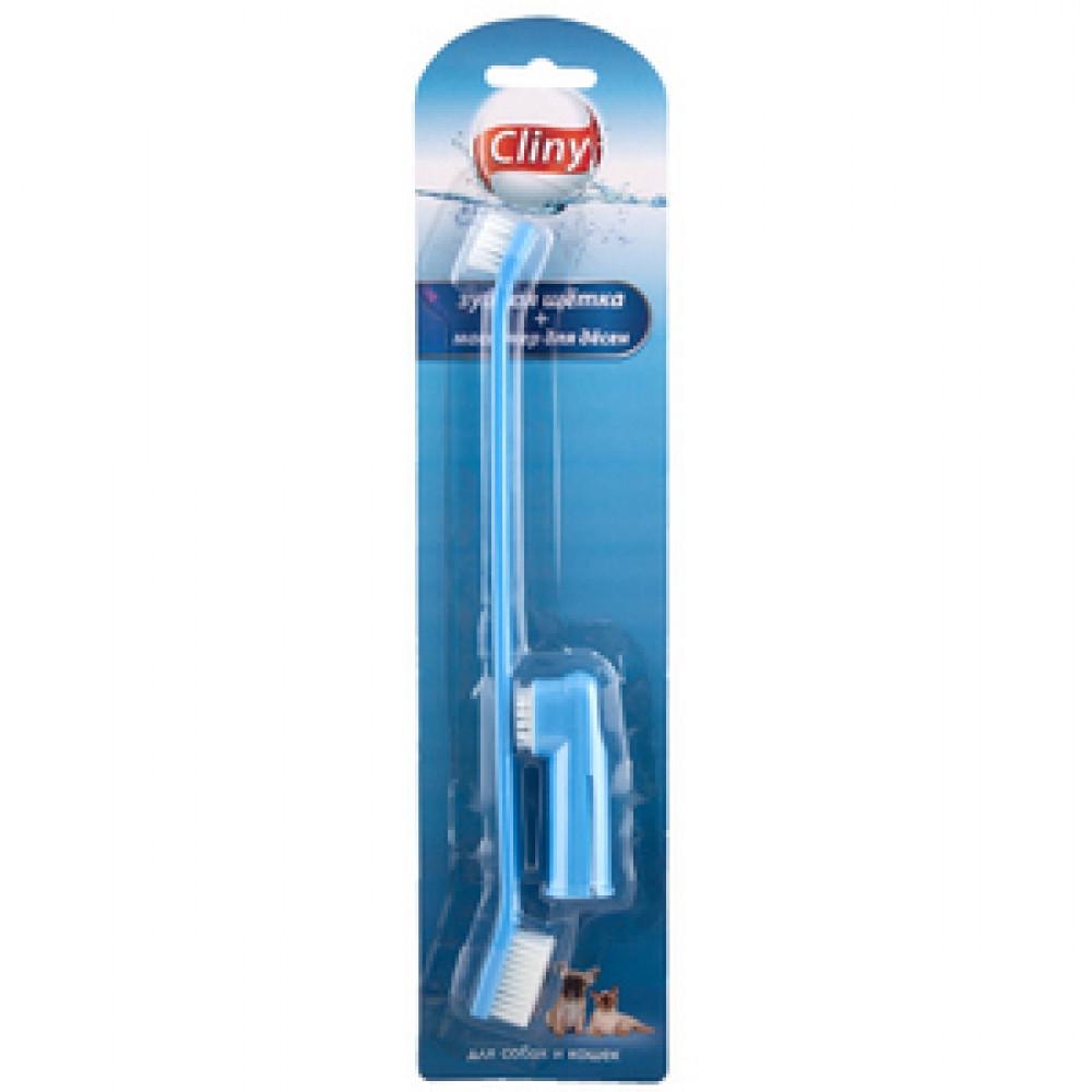 Экопром Cliny - Клини зубная щётка+массажёр для дёсен, 1 упак