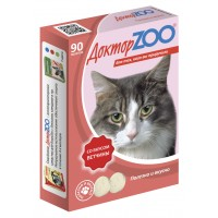 Доктор ZOO Лакомство для кошек с мультвитаминами