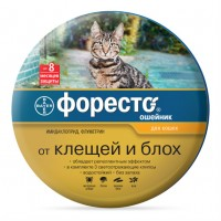 Форесто ошейник инсектоакарицидный для кошек