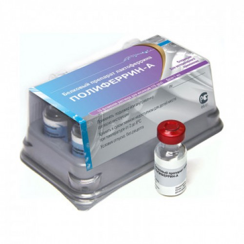 Полиферрин-А, 1 доза