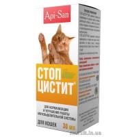 Стоп-цистит био суспензия для кошек, фл. 30 мл
