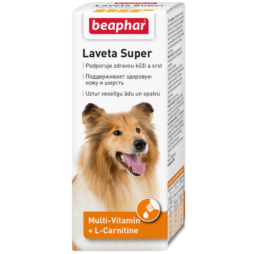 Beaphar Laveta Super витамины для шести для собак, 1 фл.