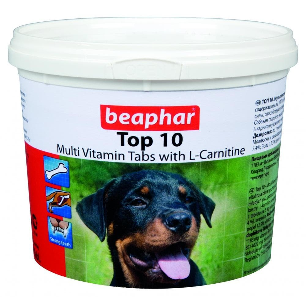 """Beaphar """"Топ10"""" Беафар - Витамины для собак с глюкозамином"""