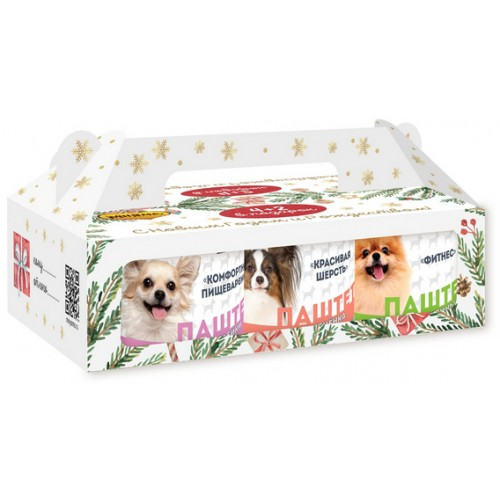 Мнямс Новогодний набор консервов для собак 220 г 4+2