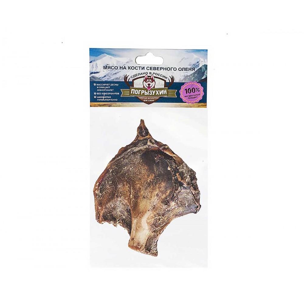 Погрызухин лакомство для собак - Мясо северного оленя на кости