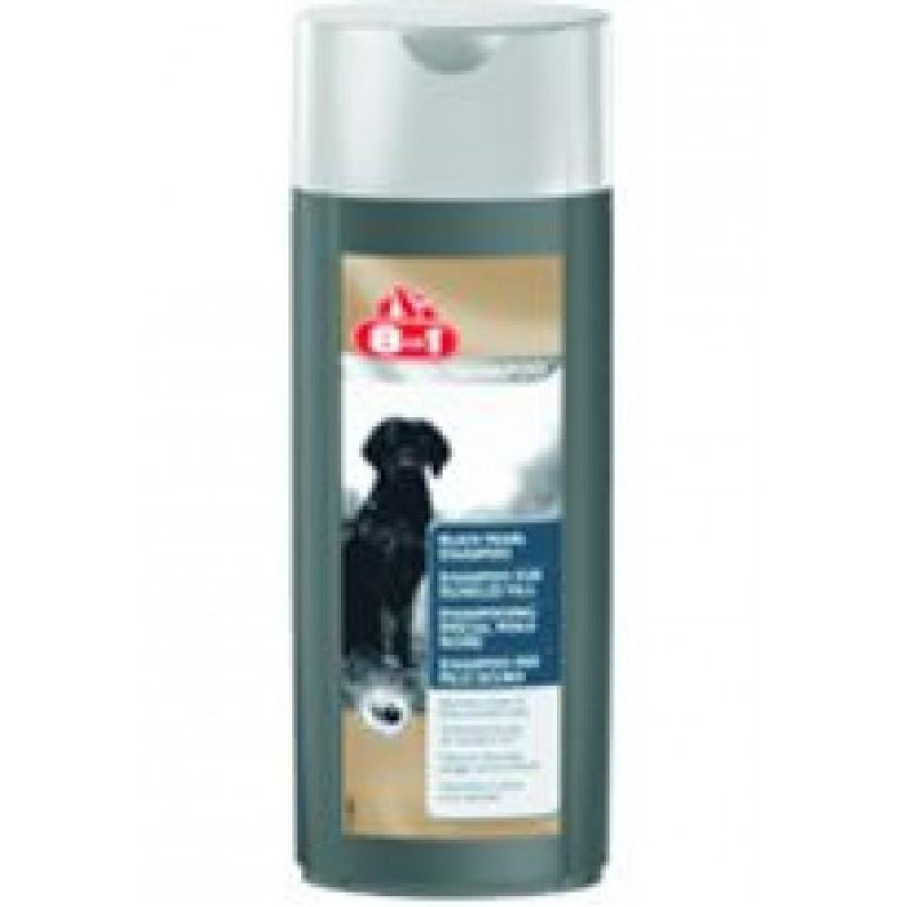 8 in 1 PC Black Pearl - Шампунь-кондиционер для собак темных окрасов с ароматом бойзен-ягоды