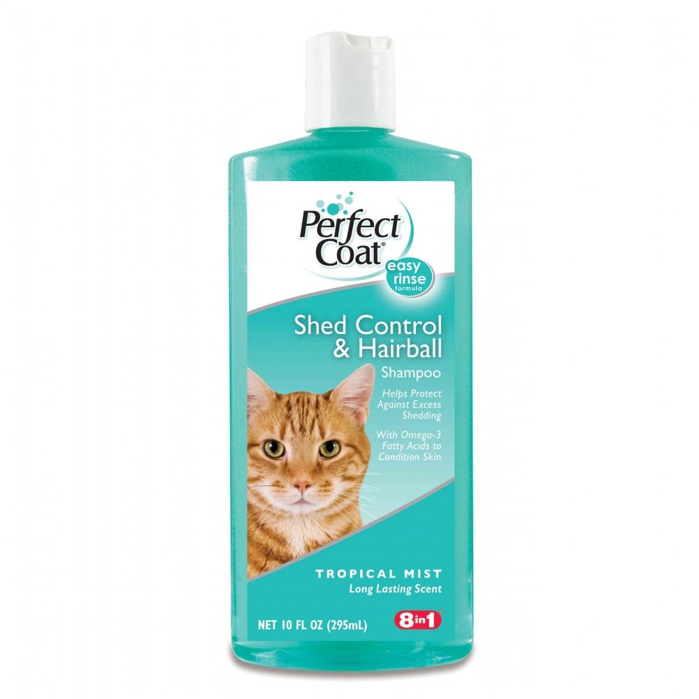 8 in 1 PC Shed Control & Hairball - Шампунь против линьки и колтунов с тропическим ароматом