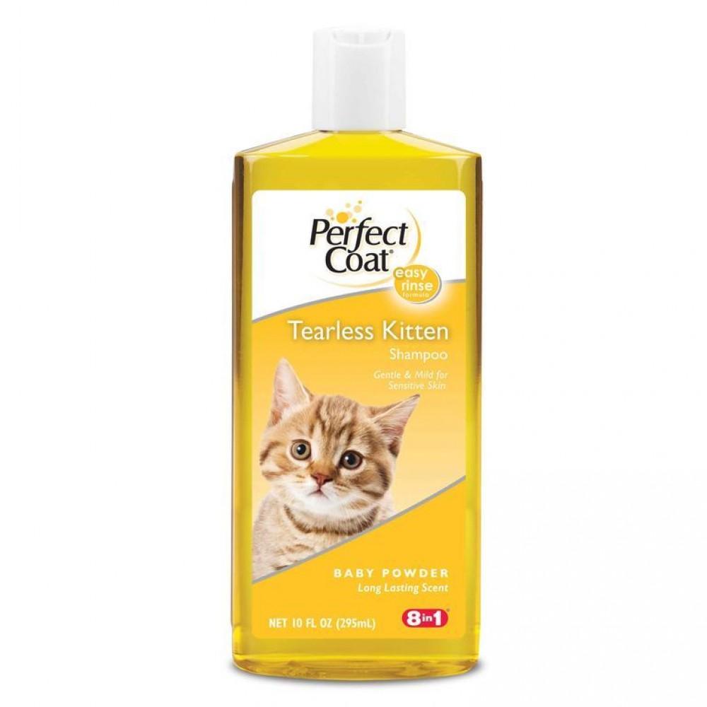 8 in 1 PC Tearless Kitten - Шампунь для котят без слез с ароматом детской присыпки
