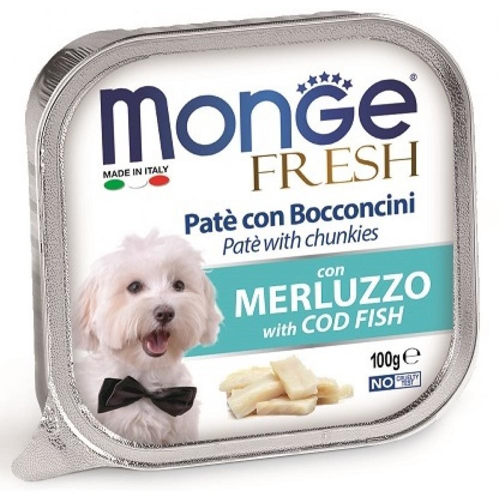 Monge Dog Fresh - Консервы для собак треска