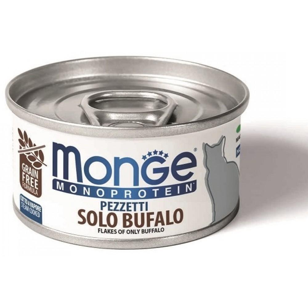 Monge Cat Monoprotein - Мясные хлопья для кошек из мяса буйвола