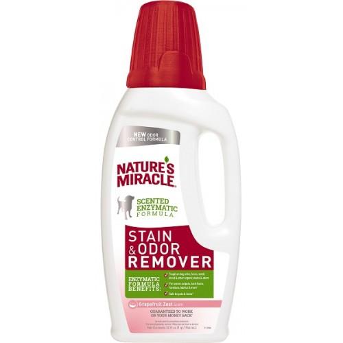 NM - Уничтожитель пятен и запахов от собак универсальный с ароматом грейпфрута