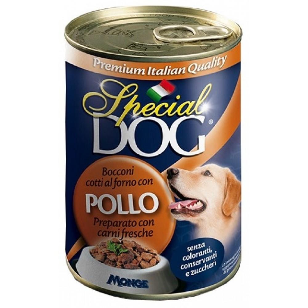Monge Special Dog - Консервы для собак кусочки курицы