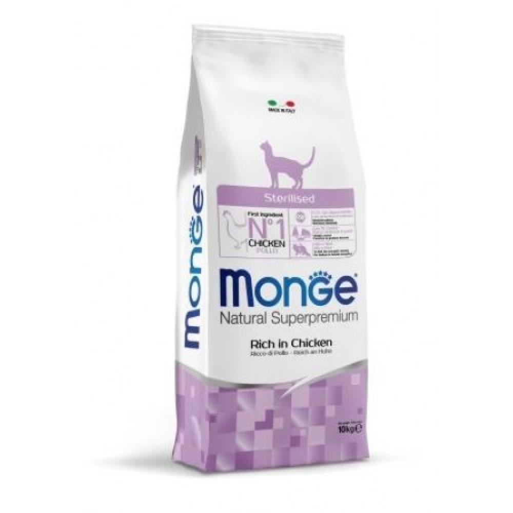 Monge Cat Sterilised - Корм для стерилизованных кошек