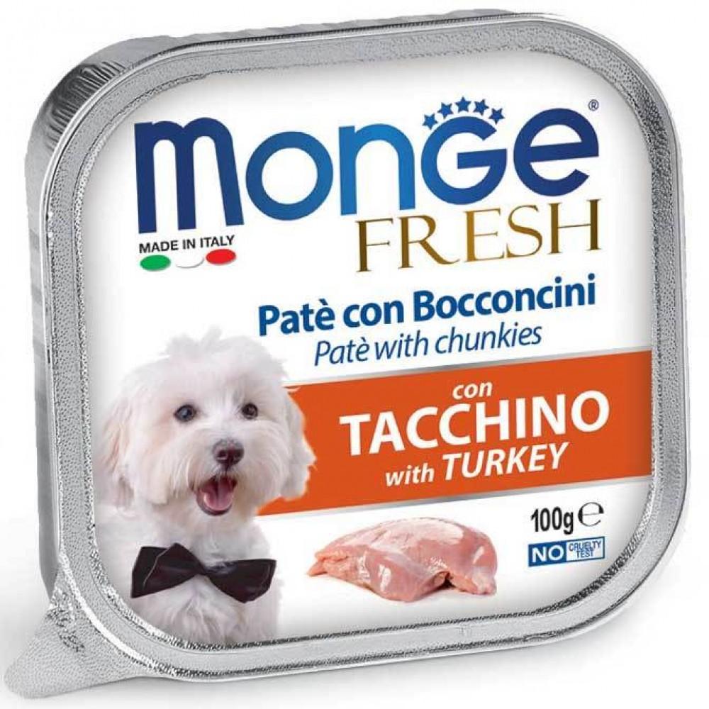 Monge Dog Fresh - Консервы для собак индейка