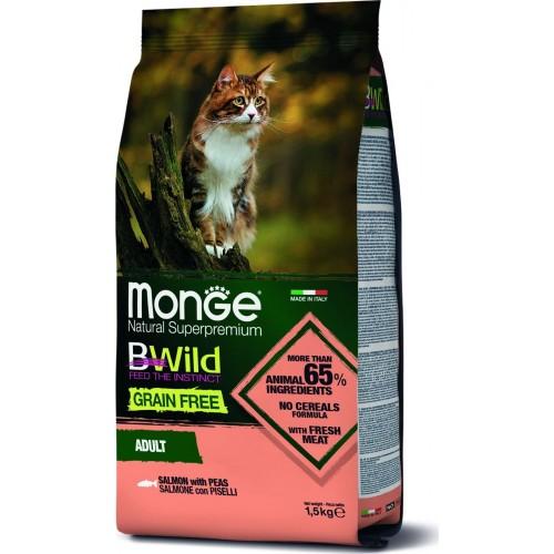 Cat BWild GRAIN FREE - Беззерновой корм из лосося для взрослых кошек
