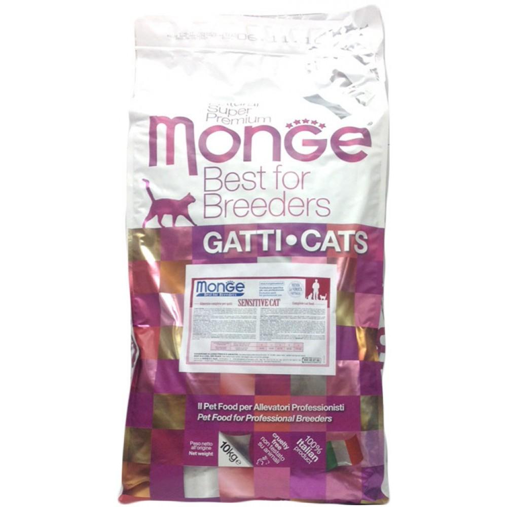 Monge PFB Cat Sensitive - Корм для кошек с чувствительным пищеварением