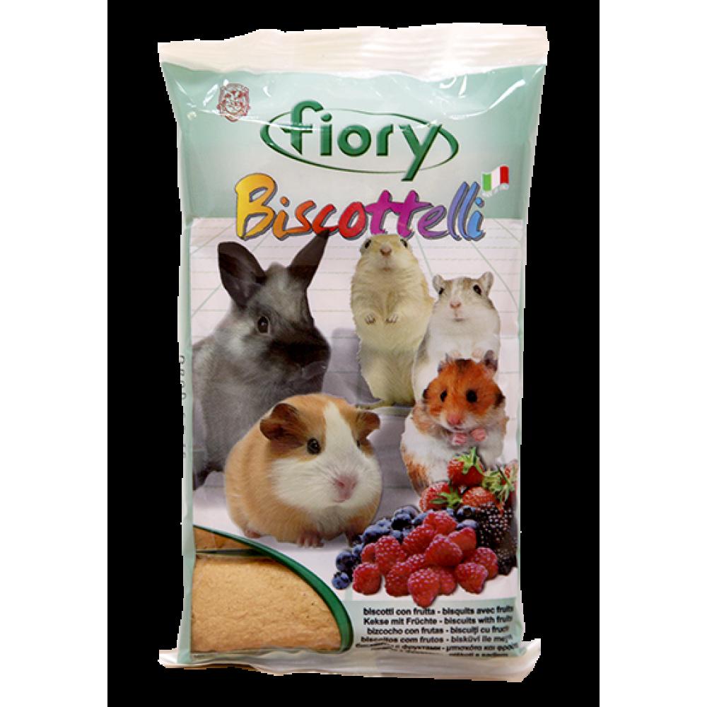 Fiory Biscottelli - Бисквиты для грызунов с ягодами