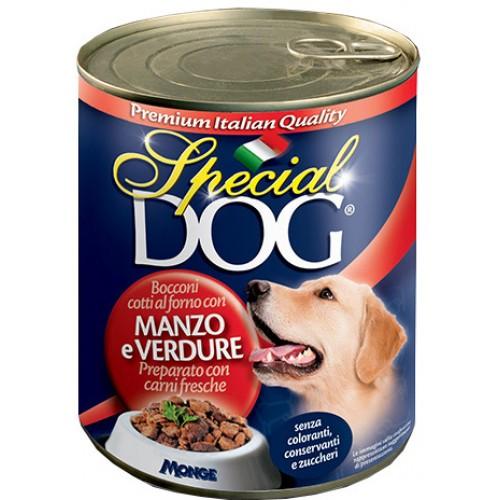 Special Dog - Консервы для собак кусочки говядины с овощами