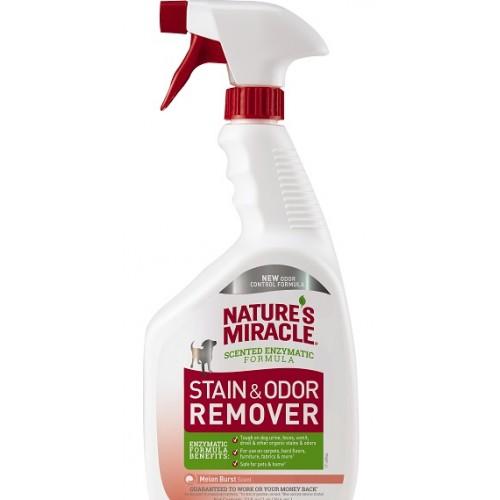 NM - Уничтожитель пятен и запахов от собак универсальный с ароматом дыни (спрей)