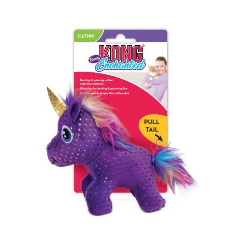 Enchanted Buzzy - Интерактивная игрушка для кошек Единорог, с мятой