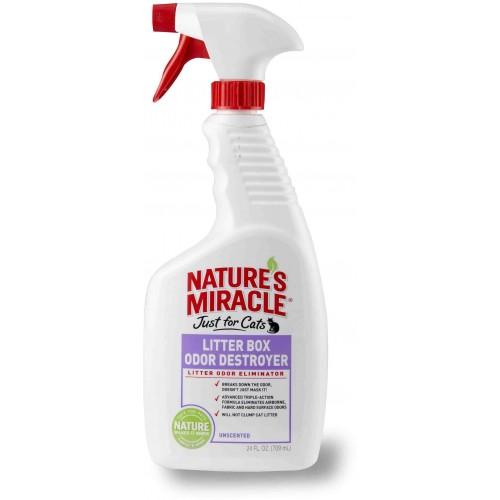 NM Litter Box Odor Destroyer - Средство для устранения запаха в кошачьем туалете (спрей)