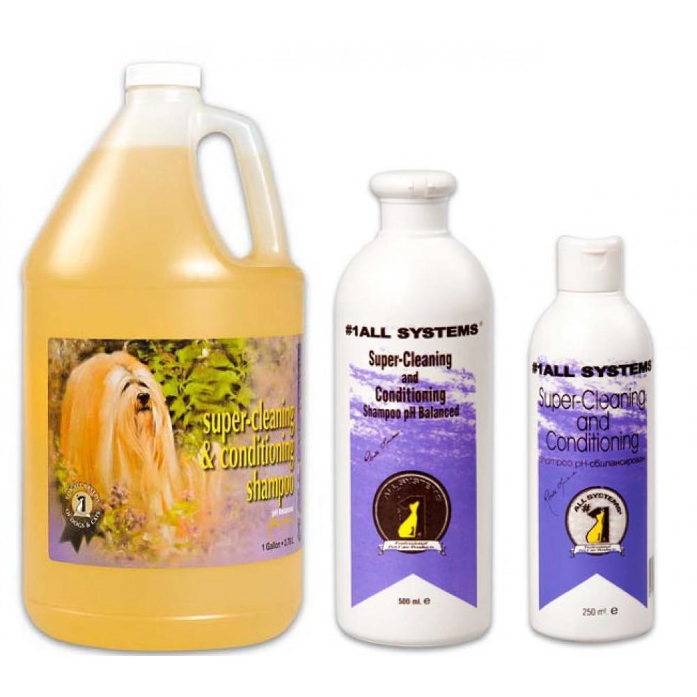 1 All Systems Super-Cleaning&Conditioning Shampoo - Шампунь суперочищающий