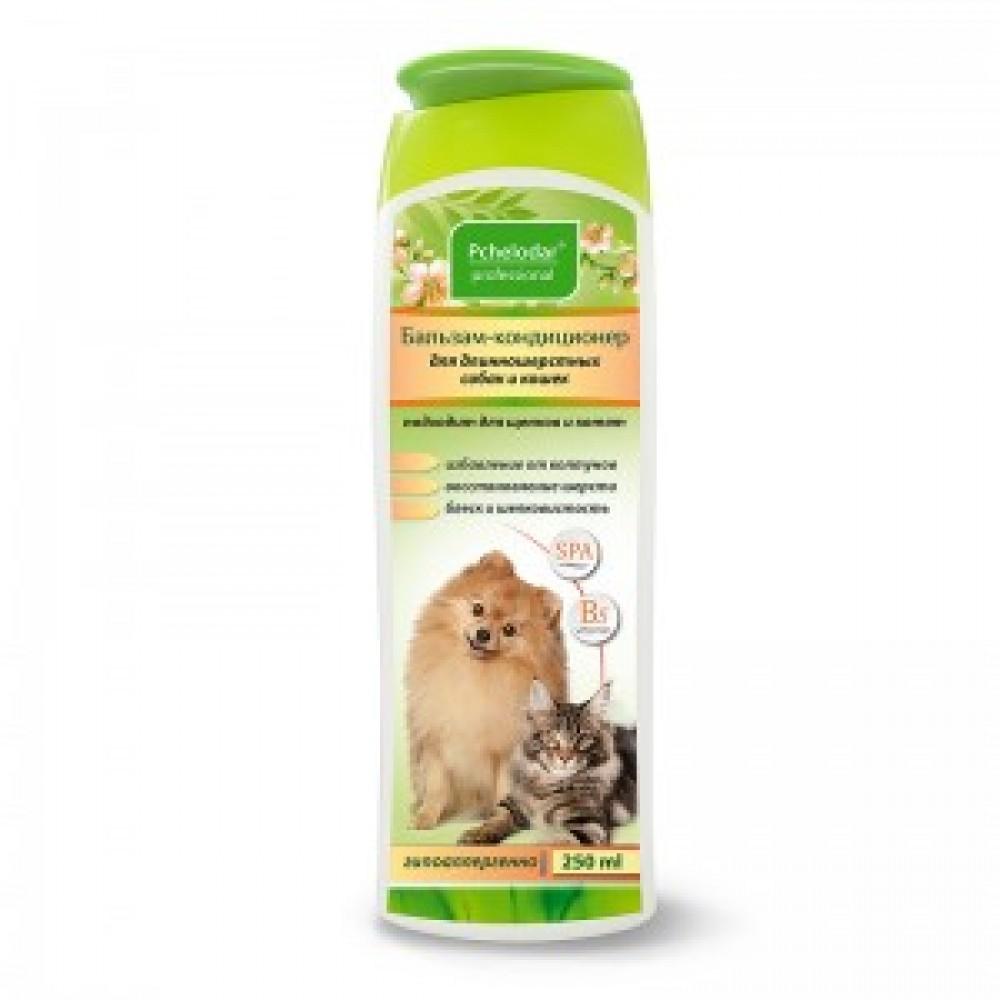 Агробиопром Бальзам-кондиционер для длинношерстных собак и кошек (Пчелодар), 250мл