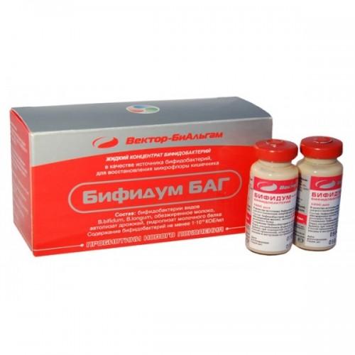 Бифидум БАГ, 1 фл. (11 мл)