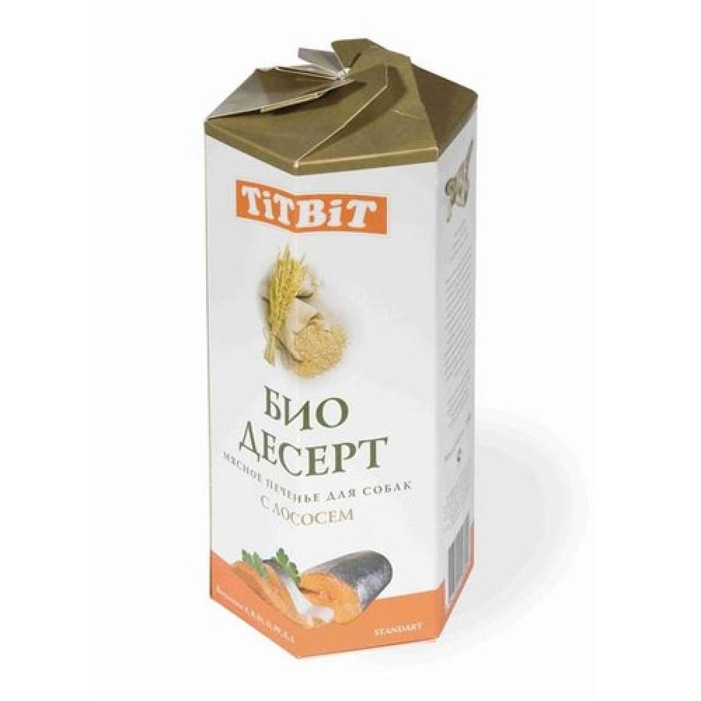 TitBit ТМ Био Десерт печенье диетическое с лососем для собак,350 г.