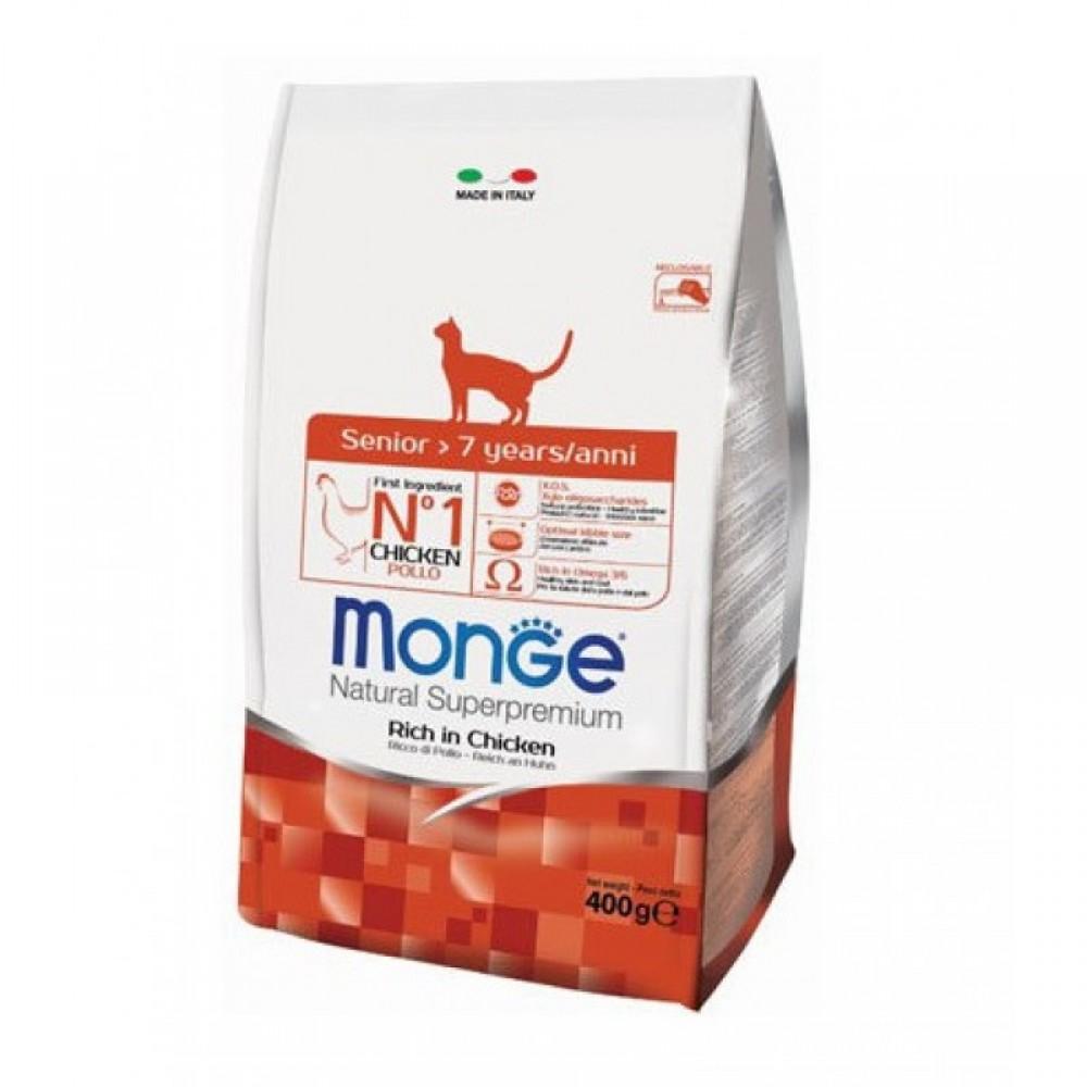 Monge Cat - Корм для пожилых кошек