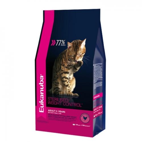 Cat - Корм для взрослых кошек с избыточным весом и стерилизованных