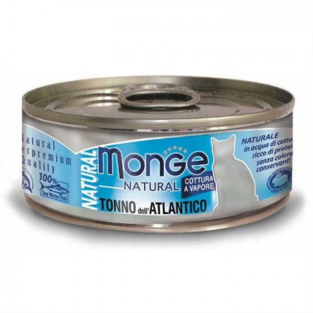 Monge Cat Natural - Консервы для кошек с атлантическим тунцом